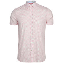 Buy Ted Baker Paletwo Tile Print Short Sleeve Shirt Online at johnlewis.com