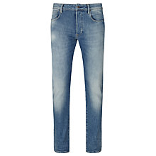 Buy G-Star Raw 3301 Humber Stretch Italian Denim Slim Jeans, Light Aged Online at johnlewis.com