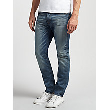 Buy G-Star Raw Stean Tapered Jeans, Dark Aged Online at johnlewis.com