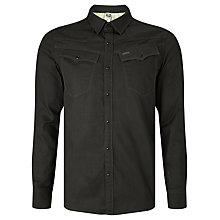 Buy G-Star Raw Lightweight 3301 Shirt, Black Online at johnlewis.com