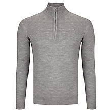 Buy John Smedley Cotswold Merino Wool Long Sleeve Polo Shirt Online at johnlewis.com