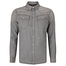 Buy G-Star Raw 3301 Warren Denim Shirt, Medium Aged Online at johnlewis.com