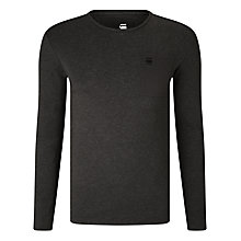 Buy G-Star Raw Mazuren Slim Long Sleeve T-Shirt, Raven Online at johnlewis.com