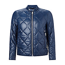 Buy G-Star Raw Attacc Quilted Jacket, Saru Blue Online at johnlewis.com