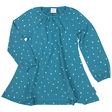 Buy Polarn O. Pyret Girls' Polka Dot Tunic Dress, Blue Online at johnlewis.com