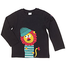 Buy Polarn O. Pyret Children's Lion Top, Black Online at johnlewis.com