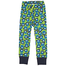 Buy Polarn O. Pyret Children's Monkey Leggings, Green Online at johnlewis.com