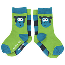 Buy Polarn O. Pyret Baby's Monkey Socks, Pack of 2 Online at johnlewis.com