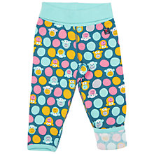 Buy Polarn O. Pyret Baby's Monkey Trousers, Blue Online at johnlewis.com