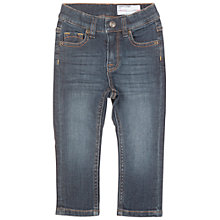 Buy Polarn O. Pyret Baby's Slim Jeans, Mid Denim Online at johnlewis.com
