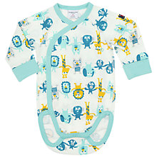 Buy Polarn O. Pyret Baby's Animal Bodysuit Online at johnlewis.com