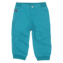 Buy Polarn O. Pyret Baby's Cargo Trousers, Blue Online at johnlewis.com
