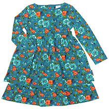 Buy Polarn O. Pyret Girl's Floral Dress Online at johnlewis.com