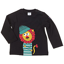 Buy Polarn O. Pyret Baby's Lion Top, Black Online at johnlewis.com