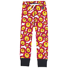 Buy Polarn O. Pyret Children's Lion Leggings, White/Orange Online at johnlewis.com