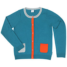 Buy Polarn O. Pyret Children's Striped Cardigan Online at johnlewis.com