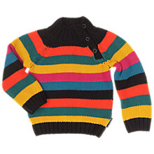 Buy Polarn O. Pyret Baby's Striped Jumper Online at johnlewis.com