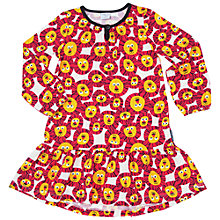 Buy Polarn O. Pyret Children's Lion Dress, White/Orange Online at johnlewis.com
