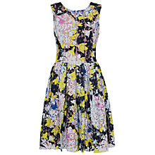 Buy French Connection Botanical Lace Dress, Acid Blonde Online at johnlewis.com