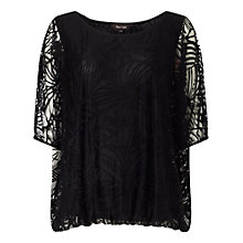 Buy Phase Eight Cecily Burnout Top Online at johnlewis.com