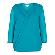 Buy Celuu Poppy Mock Wrap Blouse Online at johnlewis.com
