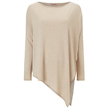Buy Phase Eight Melinda Asymmetric Jumper, Oatmeal Online at johnlewis.com
