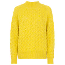 Buy French Connection Glinka Jumper, Acid Yellow Online at johnlewis.com