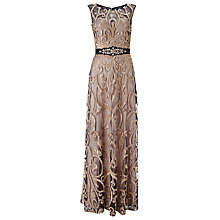 Buy Phase Eight Collection 8 Concerto Dress, Black/Gold Online at johnlewis.com