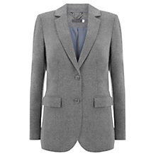 Buy Mint Velvet Flannel Blazer, Grey Online at johnlewis.com