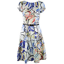 Buy Closet Floral Fit And Flare Dress, Multi Online at johnlewis.com
