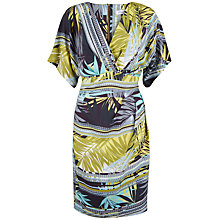 Buy Closet Tropical Kimono Dress, Multi Online at johnlewis.com