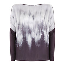 Buy Mint Velvet Greta Print Oversize Tee, Multi Online at johnlewis.com