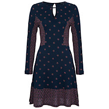 Buy French Connection Woodstock Jersey Dress, Nocturnal Online at johnlewis.com