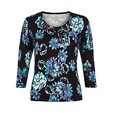 Buy Precis Petite Printed Jumper, Multi Blue Online at johnlewis.com