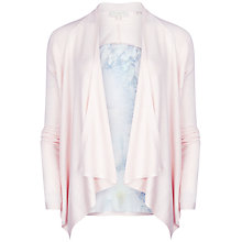 Buy Ted Baker Lixie Tile Floral Printed Back Cardigan, Dusky Pink Online at johnlewis.com