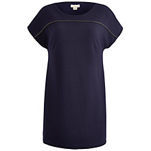 Buy Celuu Madeleine Tunic Top With Metal Chain Trim, Navy Online at johnlewis.com