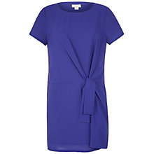 Buy Celuu Cassie Side Tie Dress, Purple Online at johnlewis.com
