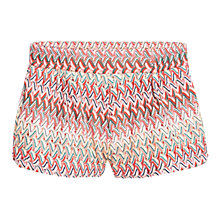 Buy Mango Ethnic Print Shorts, Red Online at johnlewis.com
