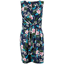 Buy Closet Floral Tie Front Dress, Multi Online at johnlewis.com