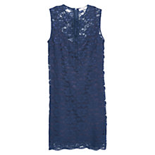 Buy Mango Lace Dress, Navy Online at johnlewis.com