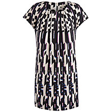 Buy Celuu Phoebe Geometric Print Cocoon Dress, Multi Online at johnlewis.com