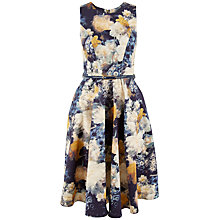 Buy Closet Floral A-Line Panel Dress, Multi Online at johnlewis.com