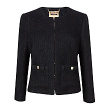 Buy Ted Baker Fari Bow Detail Suit Jacket, Navy Online at johnlewis.com