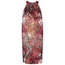 Buy L.K. Bennett Yelena Lantern Dress, Mulberry Online at johnlewis.com