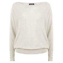Buy Mint Velvet Pebble Cowl Neck Jumper, Stone Online at johnlewis.com