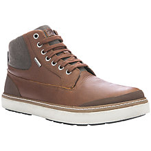 Buy Geox Mattias Amphibiox Waterproof Leather Chukka Boots, Brown Online at johnlewis.com