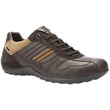 Buy Geox Pavel Leather Trainers Online at johnlewis.com