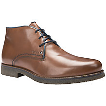 Buy Geox Claudio Leather Chukka Boots Online at johnlewis.com