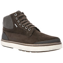Buy Geox Mattias Amphibiox Lace-Up Boots, Coffee Online at johnlewis.com