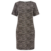 Buy Kin by John Lewis Osaka Print Dress, Khaki Online at johnlewis.com
